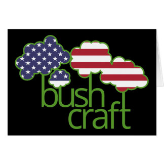 Bushcraft USA Flagge Karte