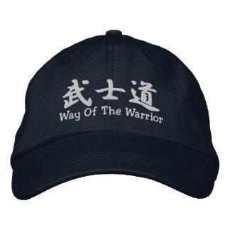 Bushido Weise des Kriegers Bestickte Kappe