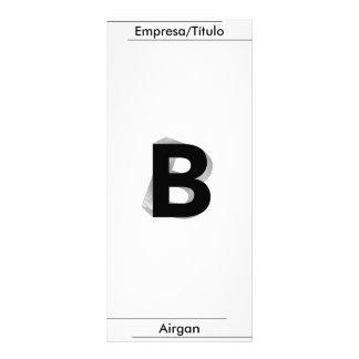 Business,- B -, Airgan Individuelle Werbekarte