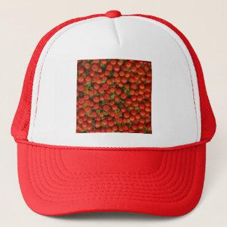 Button-Kissen/kleine Tomate Truckerkappe