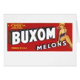 Buxom Melonen Karte