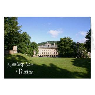 "Buxton ""öffnen"" Grußkarte"