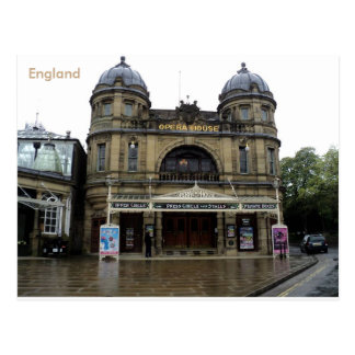 Buxton Opernhaus, Derbyshire, England Postkarte