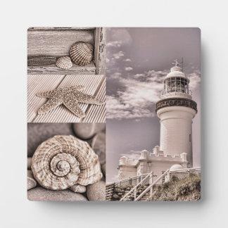 Byron Bucht-Leuchtturm Fotoplatte