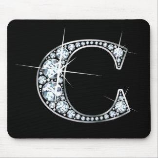 """C-"" Diamant Bling Mousepad"