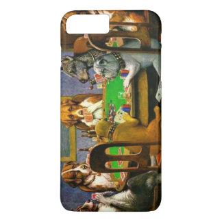 C.M. Coolidge-Hunde, die Poker spielen iPhone 8 Plus/7 Plus Hülle