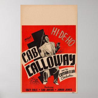 Cab Calloway und sein Poster