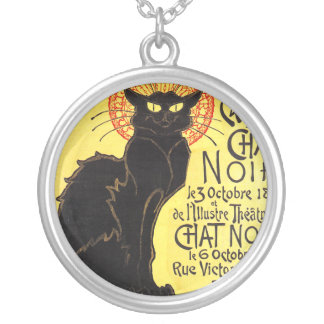 Cabaret du Chat Noir, Steinlen Halskette Mit Rundem Anhänger