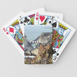 Cabo DA Roca: Portugal Bicycle Spielkarten