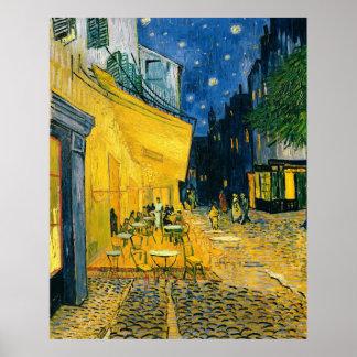 Café-Terrasse Vincent van Goghs |, Place du Forum Poster