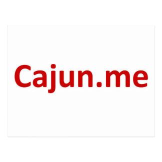 Cajun Postkarte