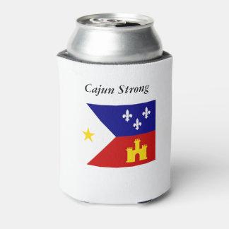 Cajun starke und stolze akadische Flagge kann Dosenkühler