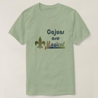 Cajuns sind magisches Spaß Cajun Stolz-T-Shirt T-Shirt