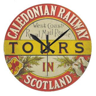 Caledonia Bahnschottland Uhr