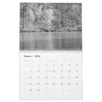 Calendario Fotos de Naturaleza en blanco Kalender