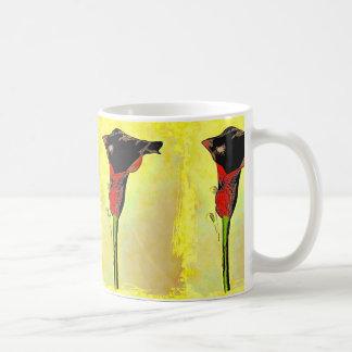 Calla-Lilien-Pop-Kunst-Entwurfs-Tasse Tasse