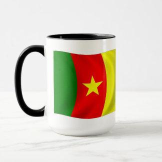 Cameroon-Flaggen-Tasse Tasse