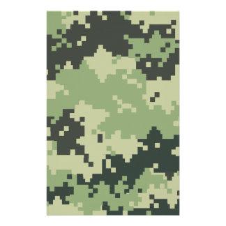 Camouflage Briefpapier