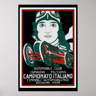 Campionato Italiano Plakat