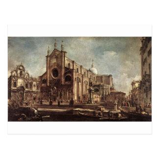 Campo Santi Giovanni e Paolo durch Francesco Postkarte