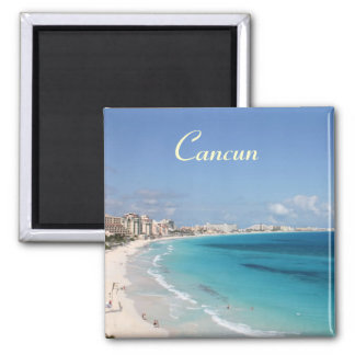 Cancun-Magnet Quadratischer Magnet