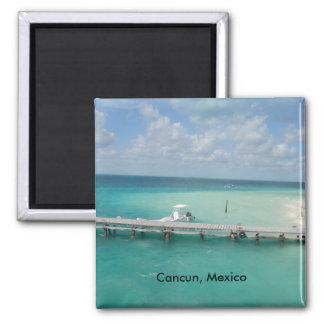 Cancun, Mexiko Isla Mujeres Quadratischer Magnet