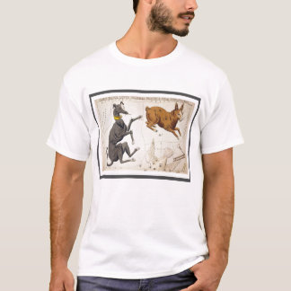 Canis-Major, Lepus, Columba Noachi und Cela T-Shirt