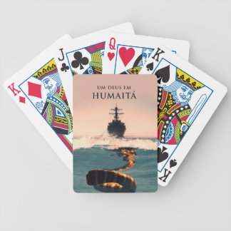 "Capa tun livro ""Um Deus EM Humaitá "" Spielkarten"