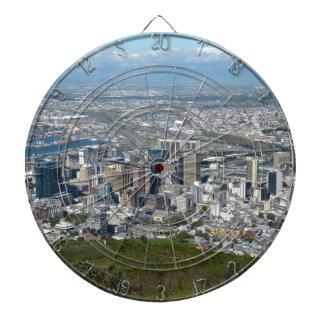 Cape Town-Stadt-Skyline Dartscheibe