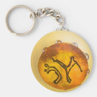 capoeira mein Liebe keychain Standard Runder Schlüsselanhänger
