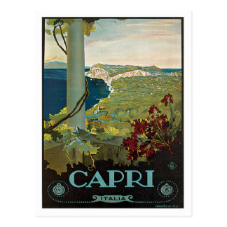 Capri Italien Italien Vintag Postkarte