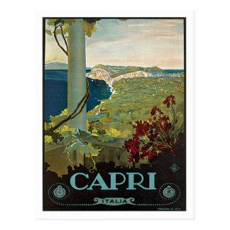 Capri Italien Italien Vintag Postkarten