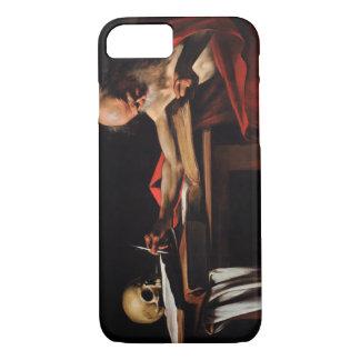 Caravaggio - Heilig-Jerome-Schreiben iPhone 8/7 Hülle