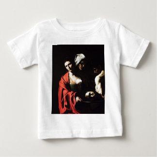 Caravaggio - Salome - klassische barocke Grafik Baby T-shirt
