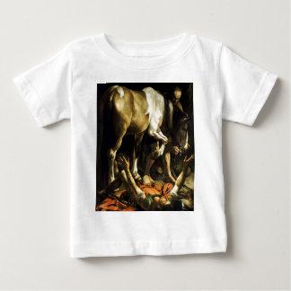 Caravaggio - Umwandlung auf der Weise nach Baby T-shirt