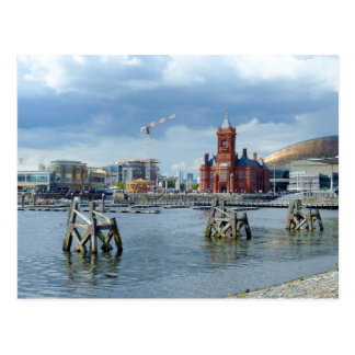 Cardiff-Bucht, Cardiff, Wales Postkarte