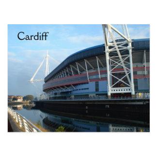 Cardiff-Millennium Stadium Postkarte