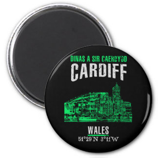 Cardiff Runder Magnet 5,7 Cm