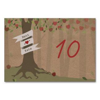 Cardstock inspirierte Apple-Obstgarten-Hochzeit
