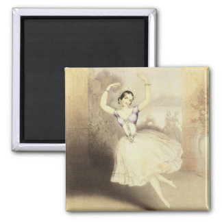 Carlotta Grisi (1819-99) im Ballett des Peri Quadratischer Magnet