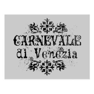 Carnevale Di Venezia Postkarte