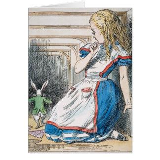 Carroll: Alice, 1865 Karte