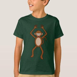 Cartoon-Affe T-Shirt
