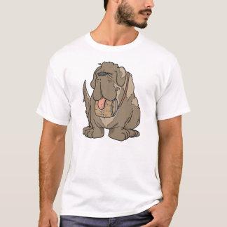 Cartoon Bernhardiner T-Shirt