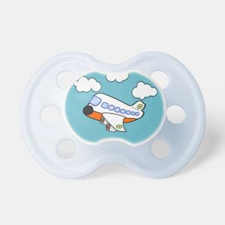 Cartoon-Flugzeug Baby Schnuller