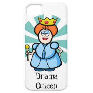 "Cartoon-Königin ""Drama-Königin "" Etui Fürs iPhone 5"
