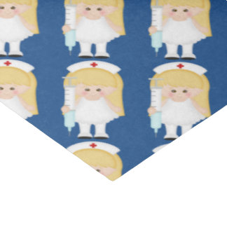 Cartoon-Krankenschwesterspaß-Seidenpapier Seidenpapier