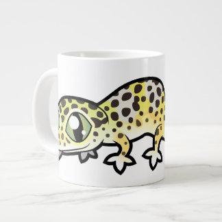 Cartoon-LeopardGecko Jumbo-Tassen