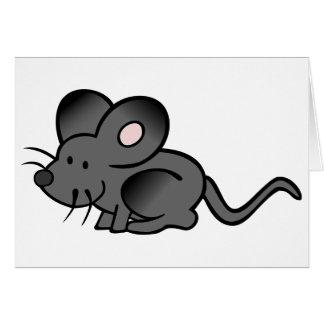 Cartoon-MäuseMitteilungskarten Karte