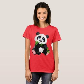 Cartoon-Panda-Bär T-Shirt